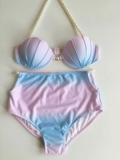 Cheap bras for large breasted women, Buy Quality swimsuit skirt directly from China bra size 34 c Suppliers: Pocket Girl 2017 Women Sweet Cameo Shell Bikini Pastel Rainbow Mermaid Shell Swimsuit Beach Swimwear Strappy Bra maillot de bain Mermaid Bikini, Bandeau Bikini Set, Bikini Swimwear, Swimsuits, Bikini Swimsuit, Striped Bikini, Two Piece Bikini, Suits For Women, Bathing Suits