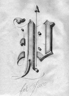 Beautiful lettering by Giuseppe Salerno | OTHER FOCUS