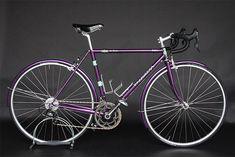 If I were a woman bike tourer, I'd definitely want this beautiful machine - Vendetta Cycles Purple Haze