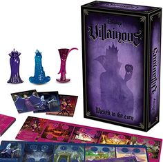 Ravensburger Disney Villainous: Wicked to The Core Strategy Board Game for Age 10 & Up - Stand-Alone & Expansion to The 2019 Toty Game of The Year Award Winner in Board Games. Lightning Bolt, Fun Board Games, Games To Play, Holiday Gift Guide, Holiday Gifts, Dr Facilier, Alone Game, Gifts For Disney Lovers, Action Cards