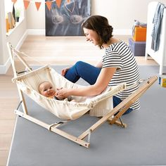 JAKO-O shop ♥ Children's fashion, baby fashion, toys & children's furniture Baby Hammock, Baby Swings, Baby Sewing Projects, Diy Wood Projects, Baby Life Hacks, Baby Koala, Diy Bebe, Foto Baby, Baby Furniture
