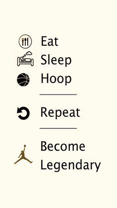 A summary of how a basketballer became a basketballer