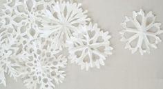Flocos de Neve para o Natal de Forminhas de Papel Passo a Passo | Reciclagem no Meio Ambiente