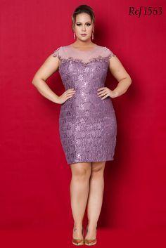 Vestidos curtos Aiza Collection - Coleção 2015