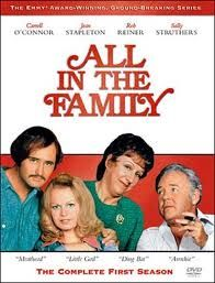 All in the Family - My dad found Archie Bunker hilarious.  In my teens, I thought Archie was an obnoxious and offensive bigot.  Then I started to appreciate the role of satire in life and enjoyed the show.