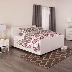HOFBURG Bed Frame (White)