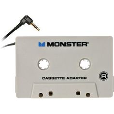 Monster AI CAS-ADPT Cable iCarPlay iPod Cassette Adapter by Monster. $7.79. Amazon.com                Why shuffle through stacks of CDs and tapes to find the song you want while you are driving? With your iPod, whether you are going down the block or cross-country, you will have plenty of music for the whole trip. iPod puts all the music you want just a dial and a click away; and Monster iCarPlay lets you and your friends share thousands of songs through your car's cassette play...