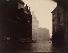 Atget-Paris-Le-Panthéon