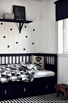 Inspírate: Una Habitación infantil en Blanco y Negro y sus DIY