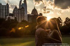 Piedmont Park engagement photography - www.chrisbrock.org