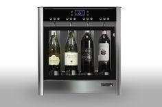 Quattro 4-Bottle Wine Dispenser WineEmotion Wine Dispenser