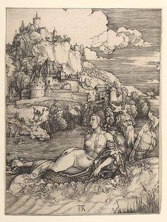 Albrecht Dürer : The Sea Monster (Metropolitan Museum of Art) アルブレヒト・デューラー Albrecht Durer, National Gallery Of Art, Art Gallery, Alphonse Mucha, Poster Online, Illustration, Paul Gauguin, Sea Monsters, Italian Artist