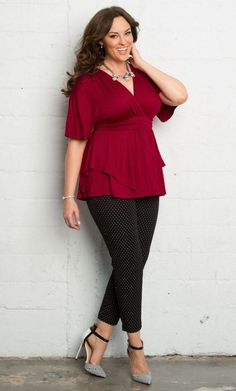 Plus size outfit inspiration 67 -  #Fallfashion #AutumnHeels