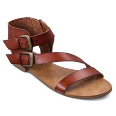 Women's Veronique Quarter Strap Sandals - Cognac 9