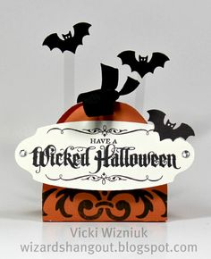 Halloween Crafts | ... Hangout: Halloween Treat Holder... a Paper Crafts publication