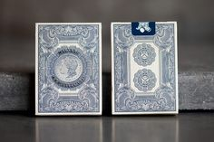 Silver Certificate Unbranded Playing Cards