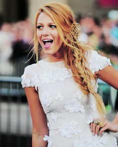 I love Blake. Special White Dress - Fashion Trends 2013