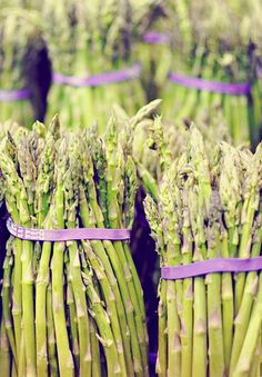 .Asparagus season is here!  Grilled with fresh pepper!