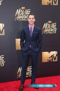 Matthew Espinosa Arrives at 2016 MTV Movie Awards in Burbank, California on Flashmafia