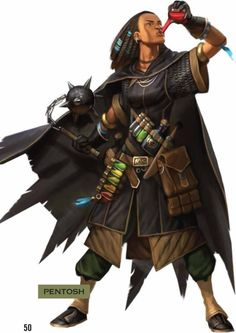Tagged with art, drawings, fantasy, roleplay, dungeons and dragons; DnD Blood Hunter Class by Matthew Mercer - inspirational Black Characters, Dnd Characters, Fantasy Characters, Female Characters, Fantasy Warrior, Fantasy Rpg, Medieval Fantasy, Fantasy Heroes, Pathfinder Character