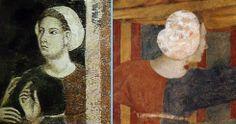1300, Memmo di Filippuccio, Palazzo del Podestà,  S. Gimignano: scene di vita privata