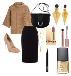"""""""#36"""" by mercedes93 on Polyvore featuring moda, MaxMara, Roland Mouret, Lipsy, A.P.C., BERRICLE, Yves Saint Laurent i NARS Cosmetics"""