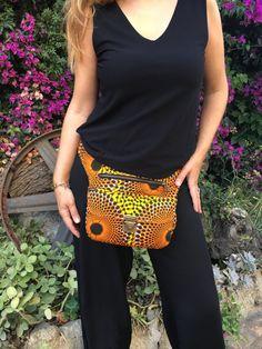Bolso de Cadera Riñonera Bandolera de diseño: Orange por CAOMKA