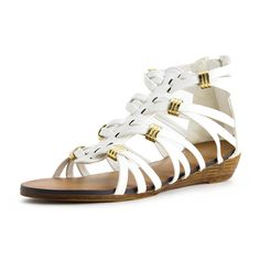 Generation19 Girls Zipper Closure Gladiator III Sandals (Toddler/Little Kid/Big Kid) >>> Remarkable product available now. : Girls sandals