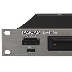 New article on MusicOff.com: Tascam DA 6400. Check it out! LINK: http://ift.tt/1LXjHxe