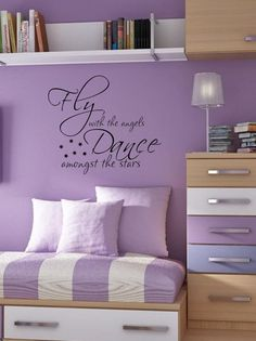 Dance amongst the stars Teen Kids bedroom by Uponthewalldesign, $15.00