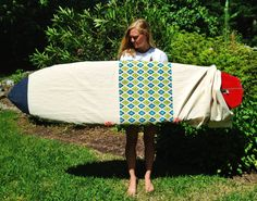 Handmade Surf Board Bag  Short Board by Piney Point by WoodenSteps, $85.00