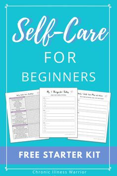 This Beginner's Guide to Self-Care teaches simple steps to create a self-care plan today. Rock your mental health! Self Care Worksheets, Therapy Worksheets, Self Care Activities, Therapy Activities, Free Mental Health, Mental Health Journal, Journal Writing Prompts, Self Care Routine, Coping Skills