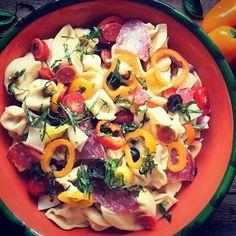 Italian Pasta Salad #food #foodporn #recipe #cooking #recipes #foodie #healthy #cook #health #yummy #delicious