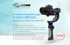 You can get your Nebula 4100 Lite 3-axis Digital Gyroscopic Stabilizer this month. Be the first to own this incredible gimbal! We will post updates daily so you can be in the loop on the release of this awesome new Nebula. Be sure to check us out at http://www.filmpower.us Have a fantastic day everyone :-) ‪#‎cheesycam‬ ‪#‎hdslrshooter‬ ‪#‎adorama‬ ‪#‎dronesplus‬ ‪#‎jouerltd‬ ‪#‎dronavista‬ ‪#‎sklepdigital‬ ‪#‎fotoplus‬ ‪#‎lovinpix‬ ‪#‎steadyhandfrance‬ ‪#‎locaimages‬ ‪#‎stadicam‬…