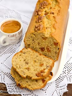 Loaf Cake, No Cook Desserts, Sweet Bread, Banana Bread, Deserts, Fruit Cakes, Cookies, Ethnic Recipes, Roman