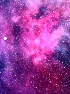 Watercolor Art Print by Julia Badeeva - X-Small Purple Galaxy Wallpaper, Pink Clouds Wallpaper, Live Wallpaper Iphone, Live Wallpapers, Cool Wallpaper, Farmer Painting, Galaxy Painting Acrylic, Galaxy Colors, Galaxy Pictures