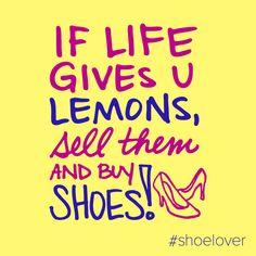 Who needs lemonade? #DSW #shoelover #quote