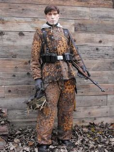 SS Autumn Oak Leaf Winter Parka & Trouser Set Display