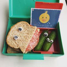 Monster Dutch Bento, lunch met een lach, broodtrommel idee, pimp je lunch.