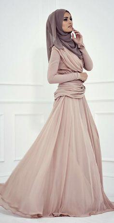 Lovely Hijab Dress.