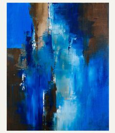 Passage - Fine Art Print of Original Abstract Painting on Canvas- Contemporary Style