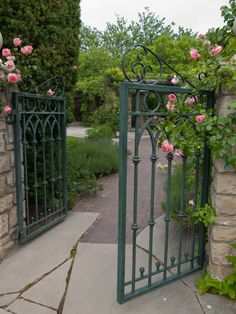 Back entrance to the garden where the ceremony will be at. This is where we'll walk in from :)