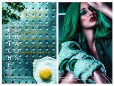"awesome Bloginvoga Exclusives | Ida Comandolli by Léo Fagherazzi in """"Kitchen Chaos""  [editorial]"