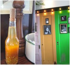Sol Food housemade hot sauce pique