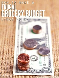 Having a frugal grocery budget allowed us to pay off debt & eventually buy a house in cash. We also eat 100% real food - no junk! Our spending is the lowest it's ever been and we've never been healthier! :: DontWastetheCrumbs.com