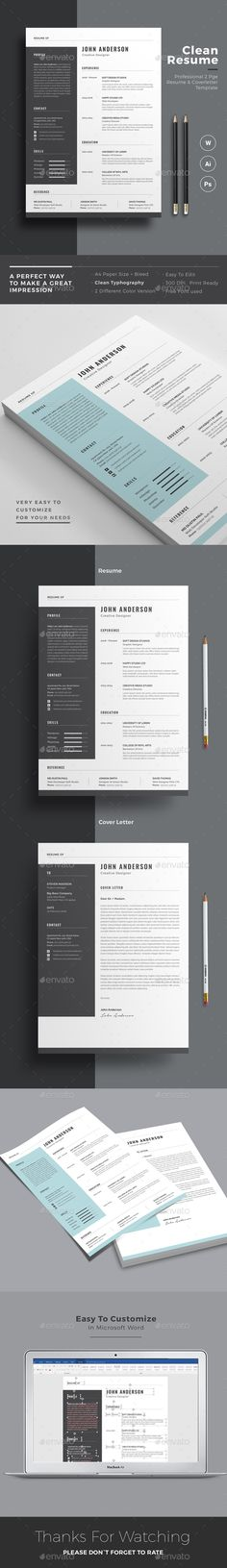 Resume  Template Professional Resume Template And Professional