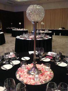 Banquet Decoration | Shining Candlestick | Detalhes de decoração | Castiçal