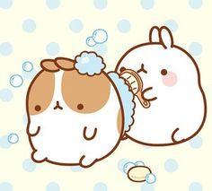 Los conejitos kawaii