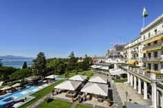 Welcome to the Beau-Rivage Palace in Lausanne, on the shores of Lake Geneva. Discover its universe, its restaurants and bars, its rooms and suites and its spa. Summer Shots, Rivage, Lake Geneva, Palace Hotel, Lausanne, 5 Star Hotels, Switzerland, Spa, Country