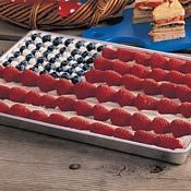 Old Glory Dessert, Recipe from Cooking.com